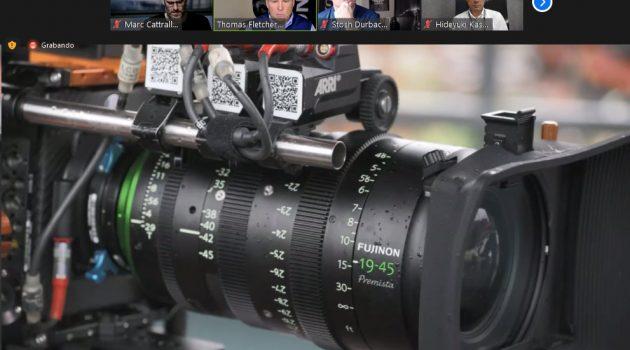 Evento online para el lanzamiento oficial de la lente Fujinon Premista 19-45mm.