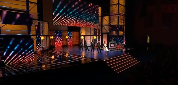 Imagen de una actuación musical durante la última gala de los Forqué.