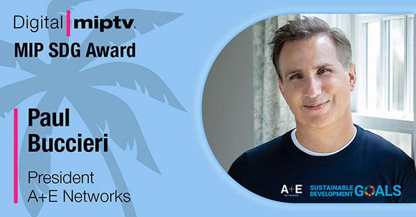El segundo MIP SDG Award será para A+E Networks