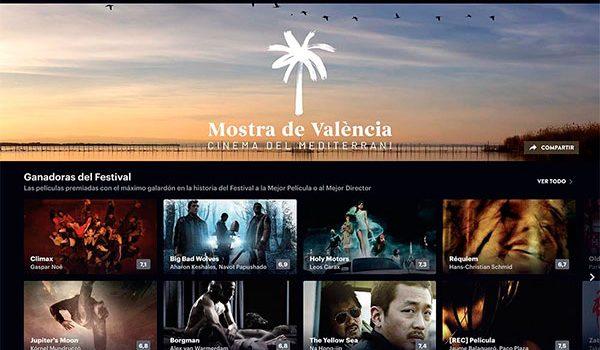 Mostra de València estrena canal en Filmin