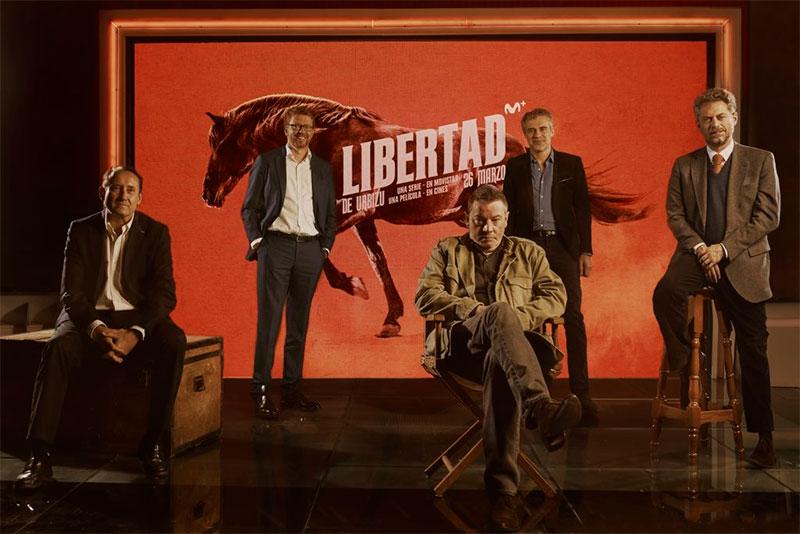 Presentación 'Libertad' de Enrique Urbizu, serie en Movistar+ y película en cines