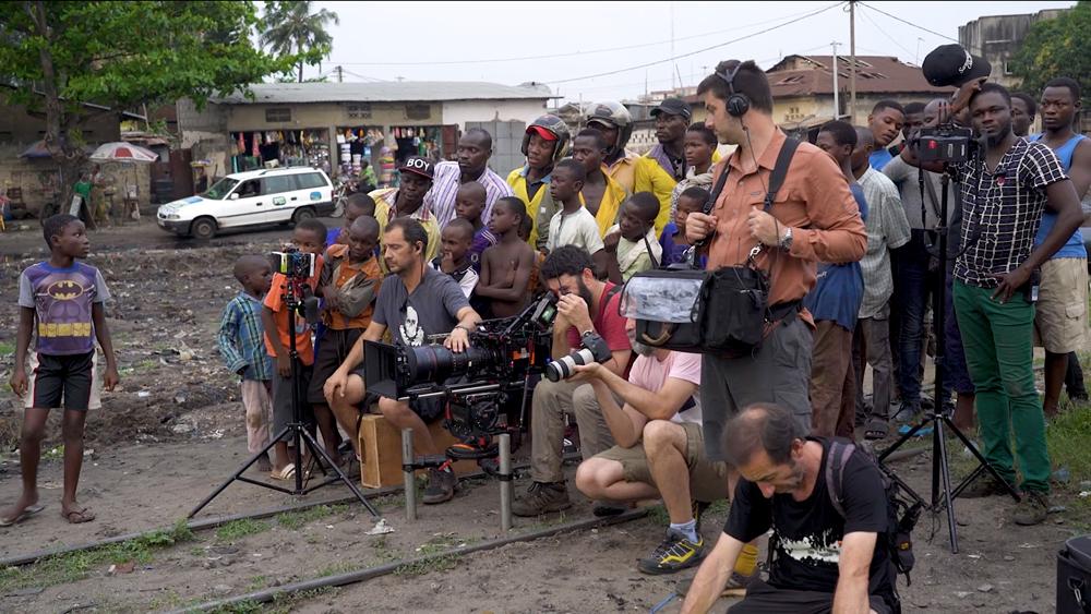Rodaje de 'Adú' en Benín