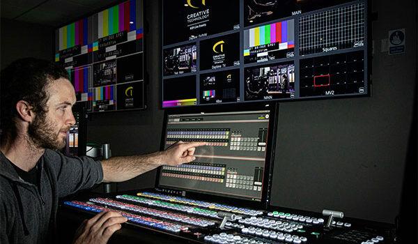 Creative Technology mejora la producción audiovisual en directo con Kairos
