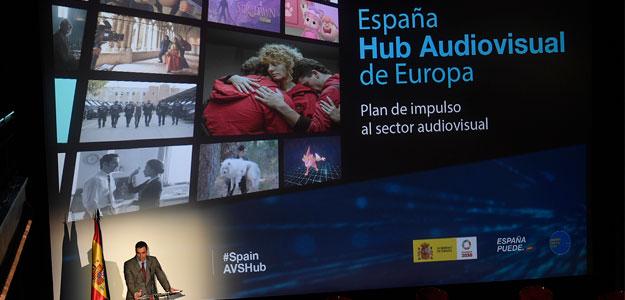 El hub audiovisual ya es una realidad con una inversión de 1.603 millones de euros