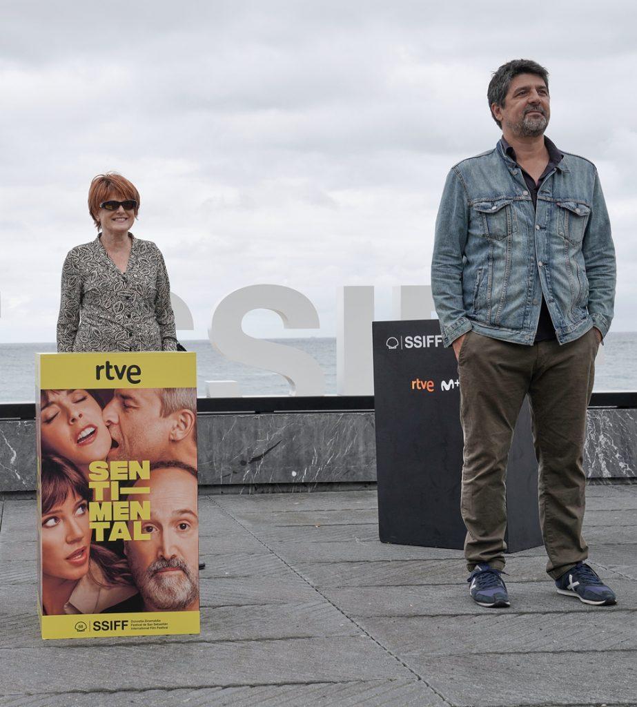 Marta Esteban y Cesc Gay en el Festival de San Sebastián (Foto: Jorge Fuembuena)