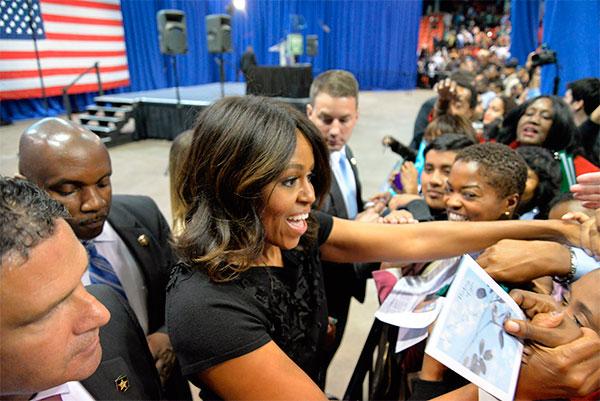 El próximo lunes Odisea repasa la vida Michelle Obama