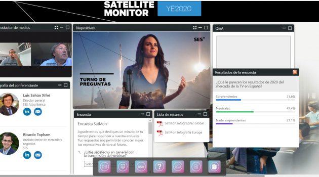 Satellite Monitor confirma la tendencia al alza de la comunicación satelital y el desplome de la TDT