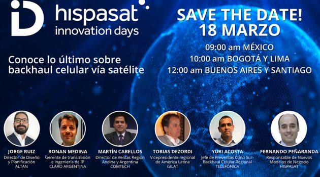 Hispasat celebra el próximo jueves 18 la novena edición de Innovation Days en formato digital