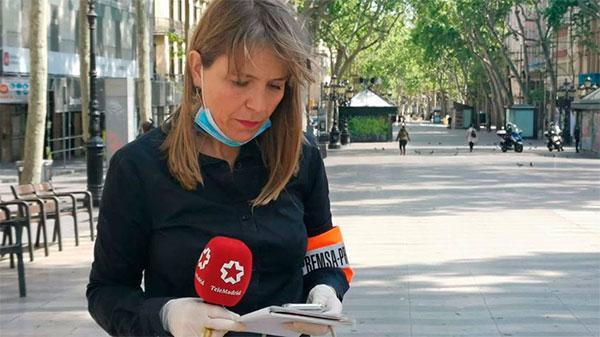 La periodista de Telemadrid Berta Queralt, Medalla de Plata de la Comunidad de Madrid