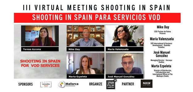 Webinar organizado por la Spain Film Commission