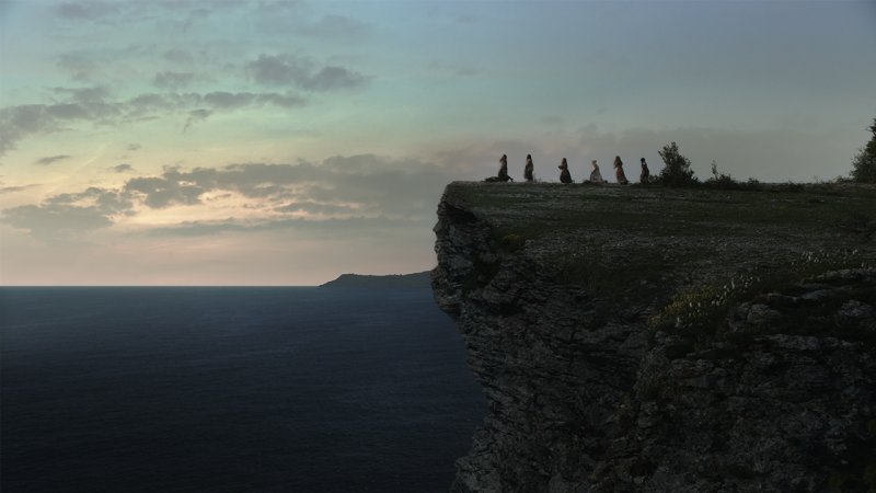 El acantilado en 'Akelarre', un gran quebradero de cabeza para los VFX.