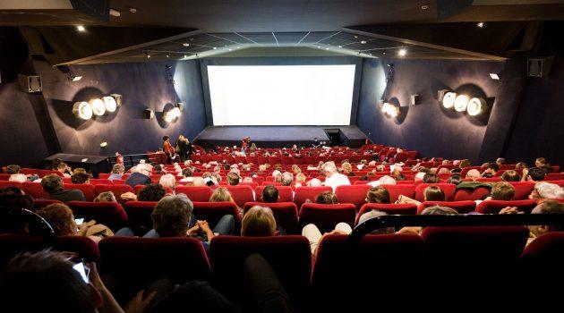 Sala de los cines Comœdia (Lyon), que forma parte de la red Europa Cinemas.