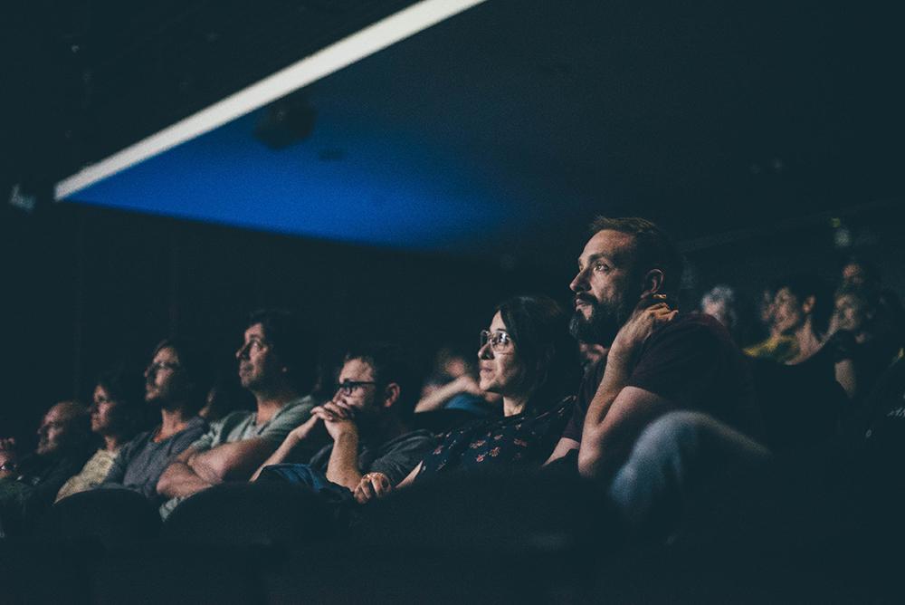 Espectadores en DocsBarcelona (Foto cortesía del certamen)