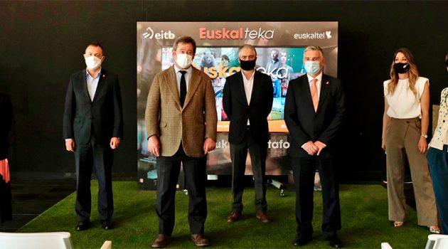Euskalteka es la nueva plataforma de contenidos audiovisuales en euskera