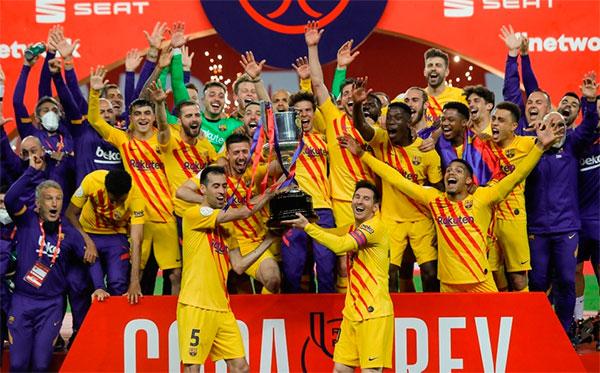 Las dos Copas del Rey de fútbol, lo más visto de la televisión en abierto en abril