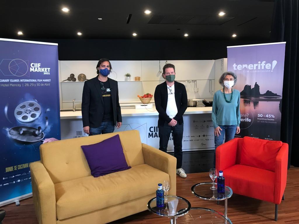 Conferencia 'De los libros al cine y la TV, cómo tratar con las plataformas'