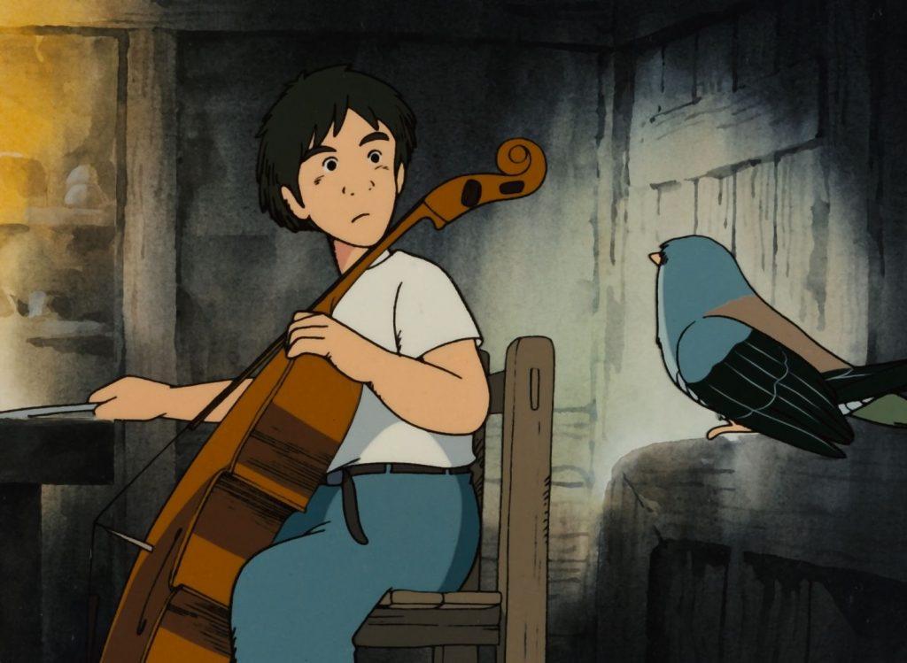 'Goshu, el violonchelista'
