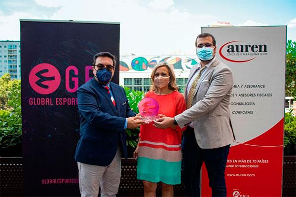 El GES galardona a Auren por su contribución en el sector eSports