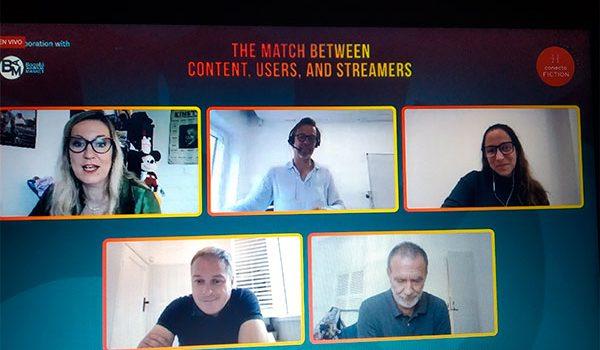 Los streamers protagonizan la segunda jornada de Conecta FICTION online