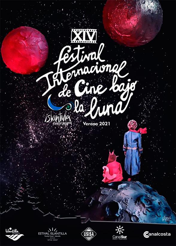Una interpretación de 'El Principito', cartel de la 14ª edición del Festival Islantilla