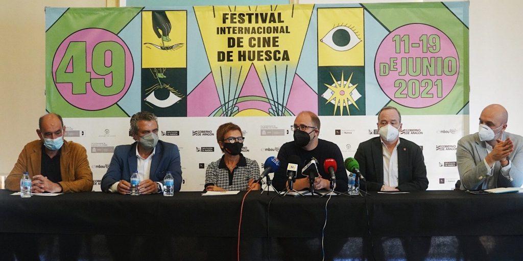 Presentación de la edición 2021 de Huesca (Foto: Ana Escario)