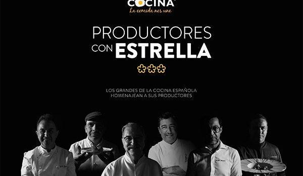 Canal Cocina tiene 'Productores con estrella', su nueva producción original