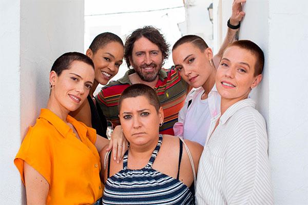 Daniel Sánchez Arévalo graba la serie 'Las de la última fila'