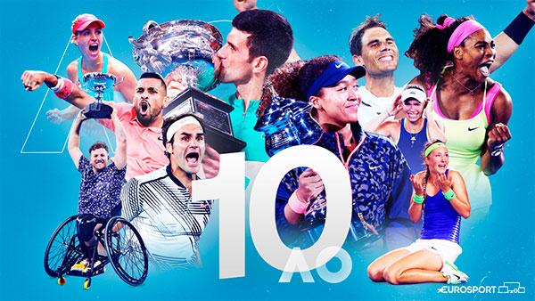 Eurosport y Discovery+ emitirán el Open de Australia hasta 2031