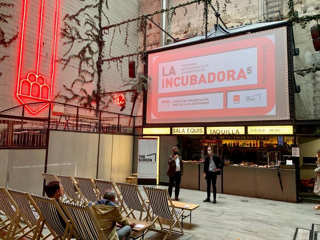 Rafa Alberola y Gonzalo Salazar-Simpson, durante la presentación de la nueva convocatoria.