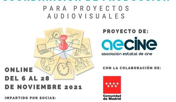AECINE convoca un nuevo curso de formación para el sector audiovisual