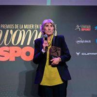 La periodista Paloma del Río galardonada en los Premios de la Mujer en el Deporte