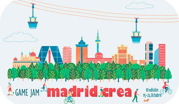 La tercera edición de la Game Jam Madrid Crea se abre a todo el mundo